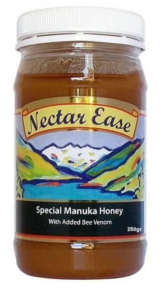 manuka ease 250 gr- miere manuka cu venin de albine nelson