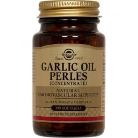GARLIC OIL softgels 100cps SOLGAR