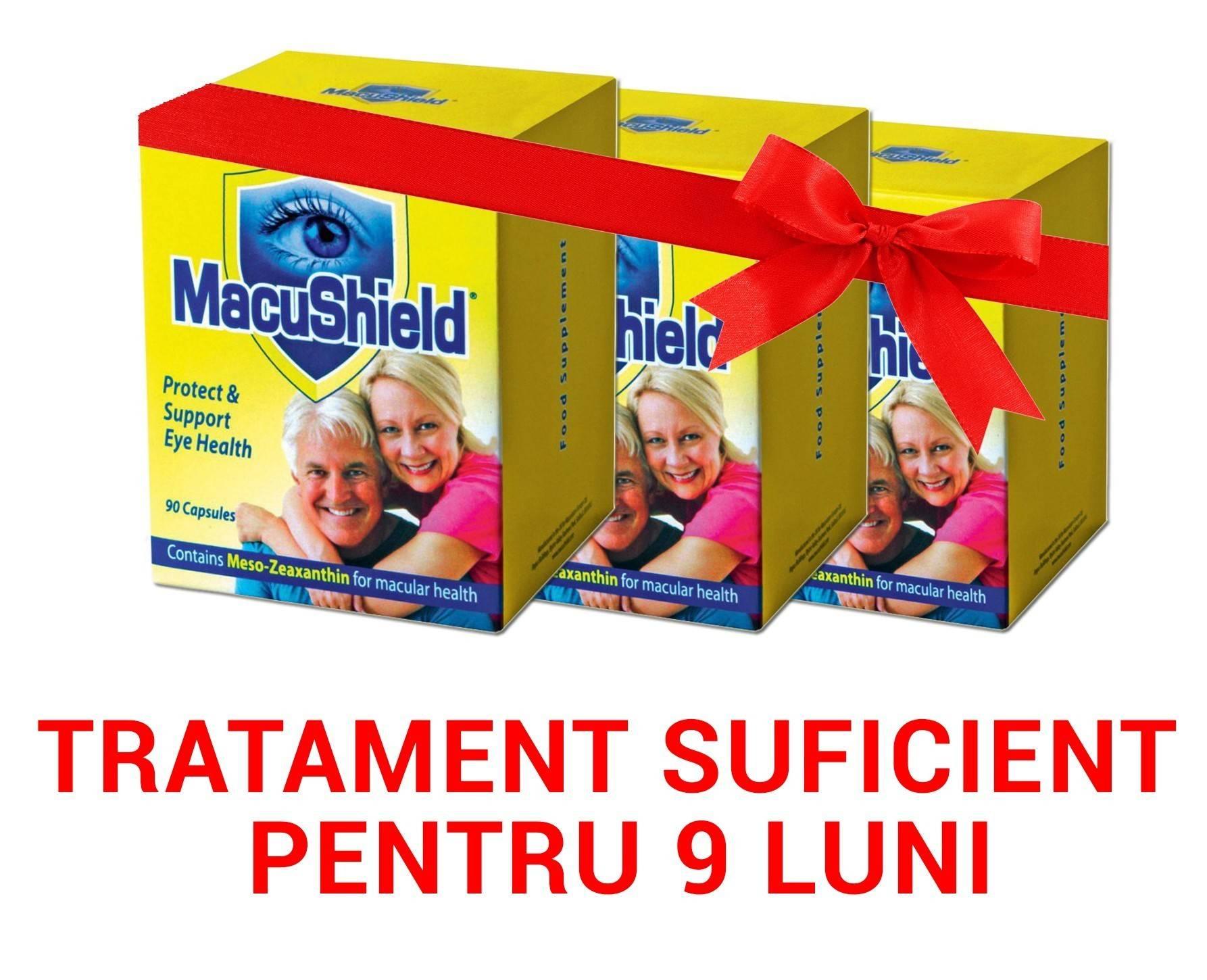 3 x macushield 90cps pachet pt 9 luni