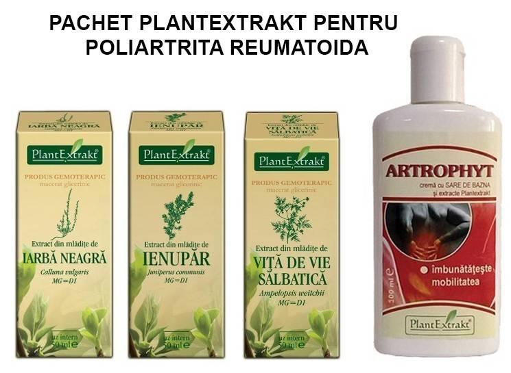 pachet plantextrakt pentru poliartrita reumatoida