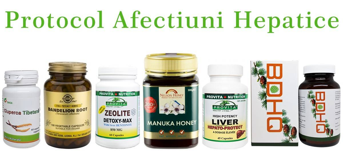 protocol afectiuni hepatice