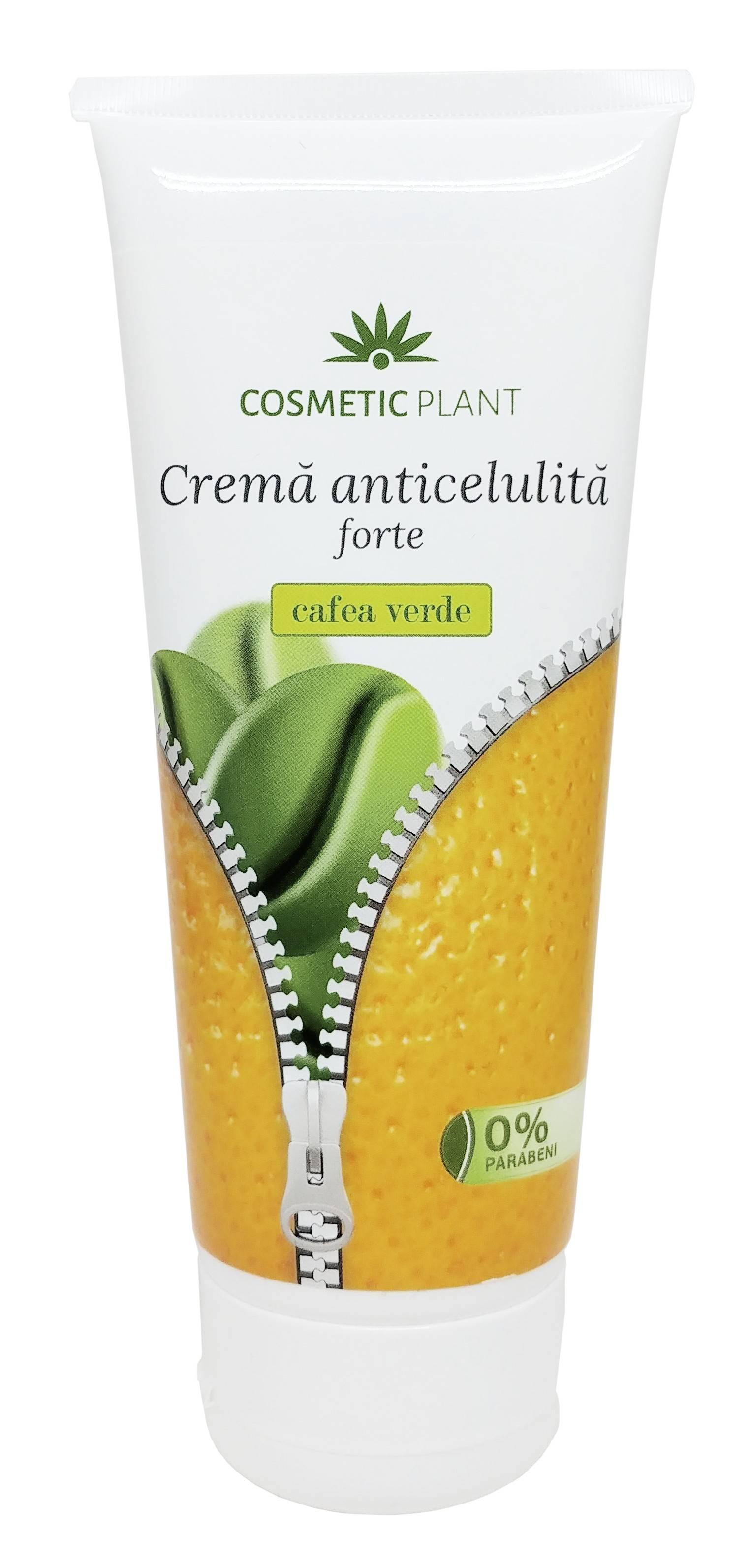 Crema Anticelulita cu Cafea Verde Forte, 200 ml, Cosmetic Plant thumbnail