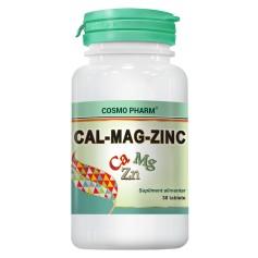 CALCIU - MAGNEZIU - ZINC 30TAB