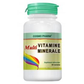 MULTIVITAMINE - MINERALE 30CPS