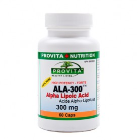 Acid Alpha Lipoic 300MG,60CPS (ALA-300)