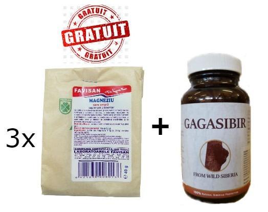 pachet gagasibir + sulfat de magneziu