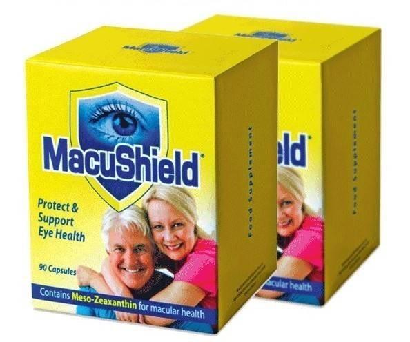 2x macushield 90cps pachet pt 6 luni