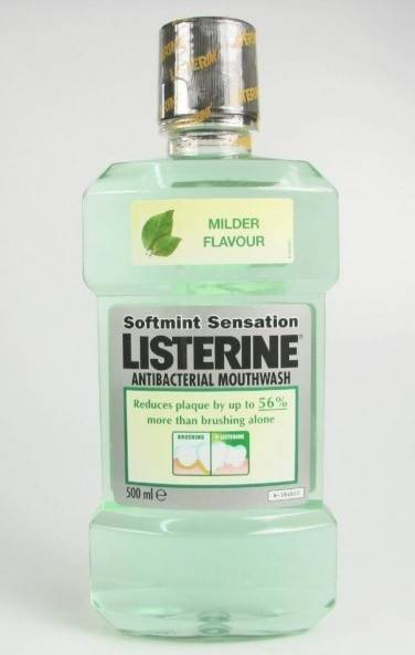 LISTERINE SOFTMINT ANTIBACTERIAL 500ML thumbnail
