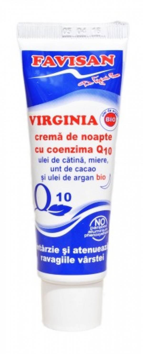 CREMA NOAPTE COENZIMA Q10 VIRGINIA 50 ML thumbnail