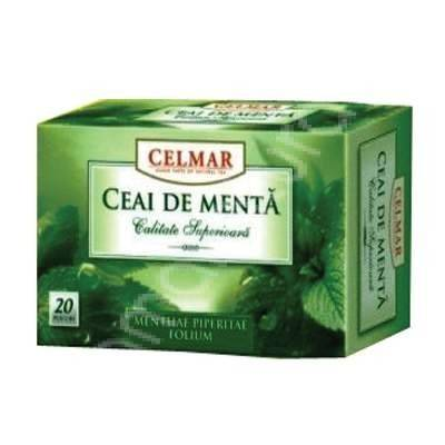 ceai menta 20 dz celmar