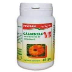 GALBENELE 40 CAPS