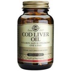 Cod Liver Oil softgels 100s SOLGAR