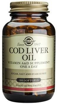 Cod Liver Oil softgels 100s thumbnail