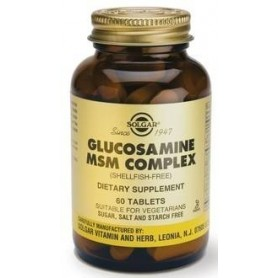 Glucosamine MSM Complex (Shellf.Free) 60tb Solgar