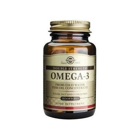 Omega-3 Double Strength softgels 30s SOLGAR