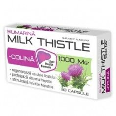 MILK THISTLE + COLINA 30CPS