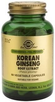 sfp korean ginseng root extract veg.caps 60s