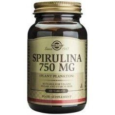 Spirulina 750 mg tabs 100s SOLGAR