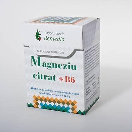magneziu citrat 40 stick-uri