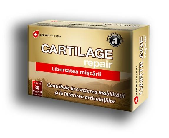 CARTILAGE REPAIR 30 CAP SPRINT PHARMA thumbnail